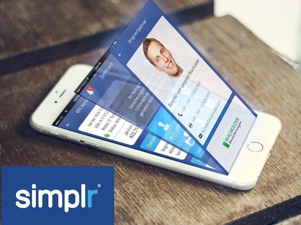 Simplr der elektronische Kundenordner für Ihre Versicherungen